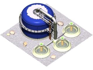 The Mars Exploration - Wasserpumpe / Water pump